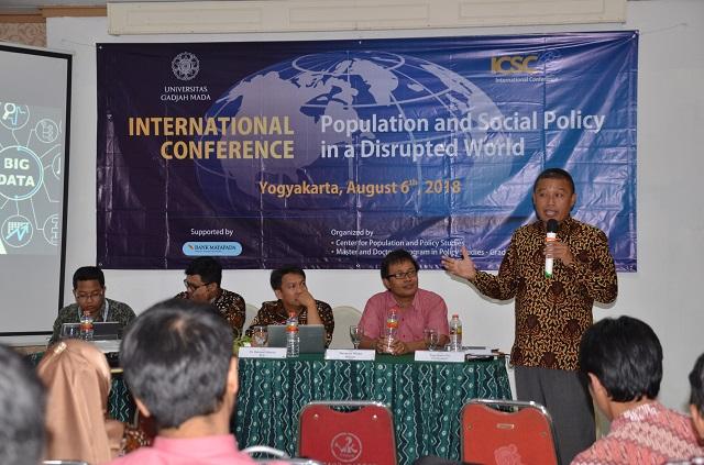 Pemerintah Kota Yogyakarta Bagikan Pengalaman tentang Penggunaan Big Data di ICSC 2018