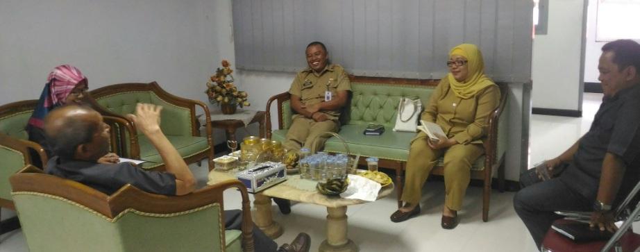 Kunjungan Kepala Diskominfosan Kota Yogyakarta Ke BPS Kota Yogyakarta