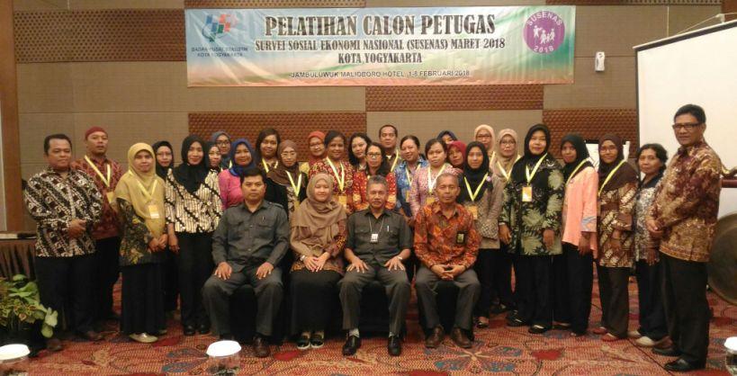 Pelatihan Calon Petugas Susenas 2018 Kota Yogyakarta
