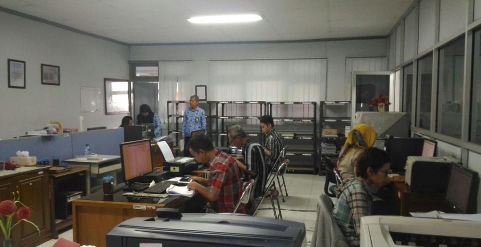 Proses Olah Data Kota Yogyakarta Dalam Angka 2018