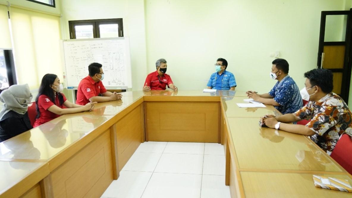 Kunjungan Kerja Manajemen TATV ke  Diskominfosan Kota Yogyakarta