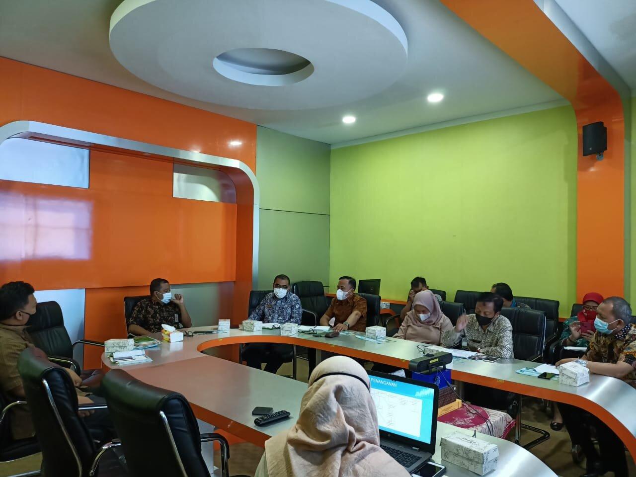 Kominfosan Kota Yogyakarta Terima Kunjungan Bagian Pengaduan Sekjen DPR RI